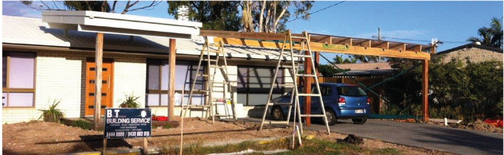 Carport and garage extensions