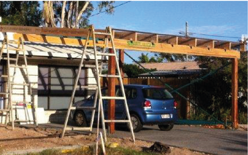 Sunshine Coast carport renovations