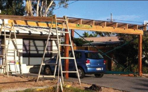 Sunshine Coast carport renovations